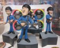 Beatles statues dolls