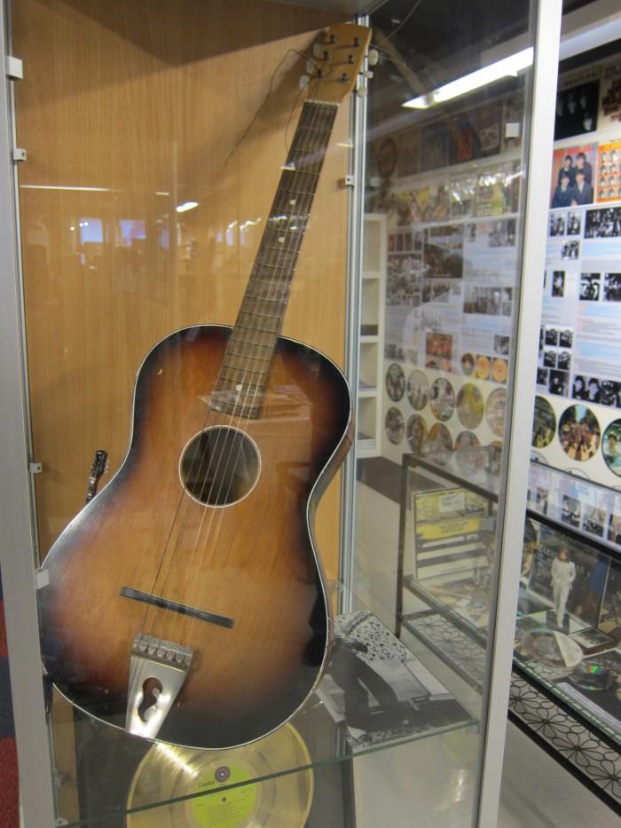 George Harrison's guitar beatles museum