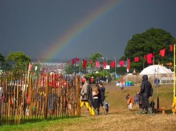 Glastonbury rainbow IMG_1287