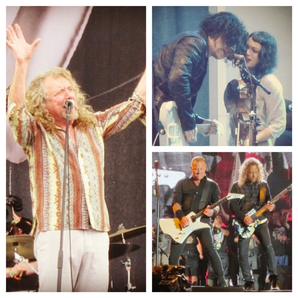 Jack White Metallica Robert Plant
