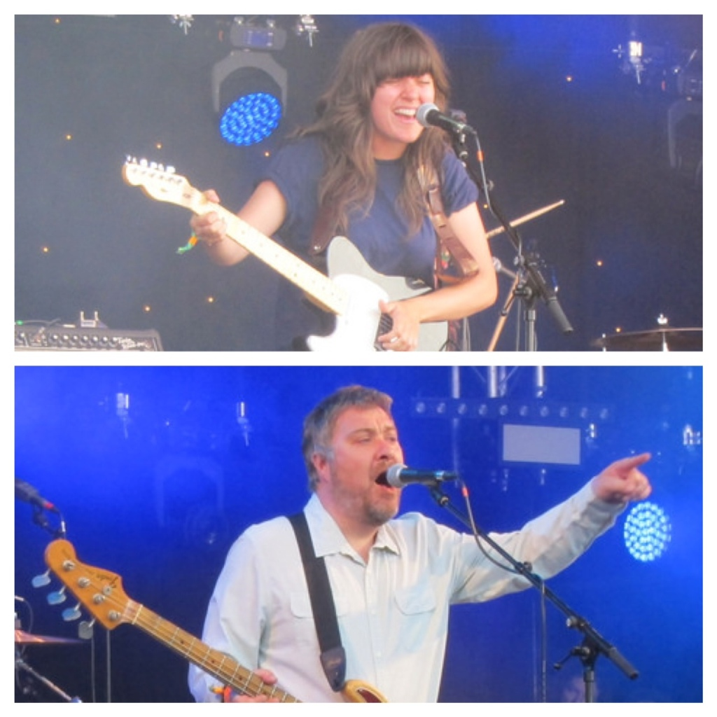 Jimi Goodwin and Courtney Barnett
