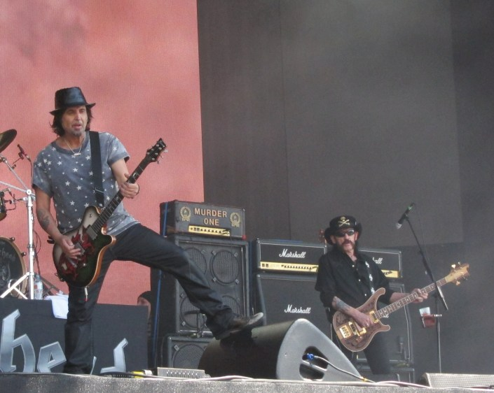 Motorhead played Hyde Park - and it was good to see Lemmy, even if he didn't look 100%