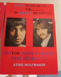 Paul id Dead or is ringo dead Azing Moltmaker