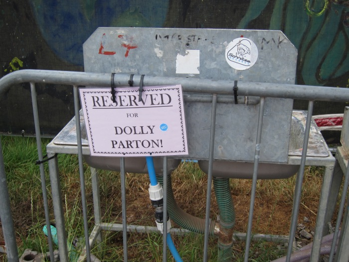 Reserved for Dolly Parton
