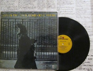 After The Gold Rush Reprise Records Neil Young lyric sheet