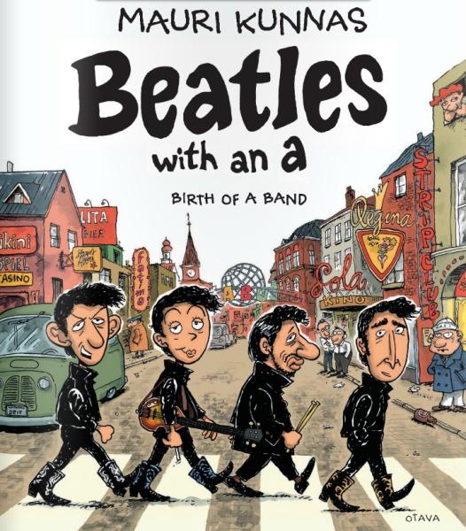 Beatles with an A Mauri Kunnas cover
