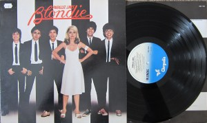 Blondie Parallel Lines Chrysalis label