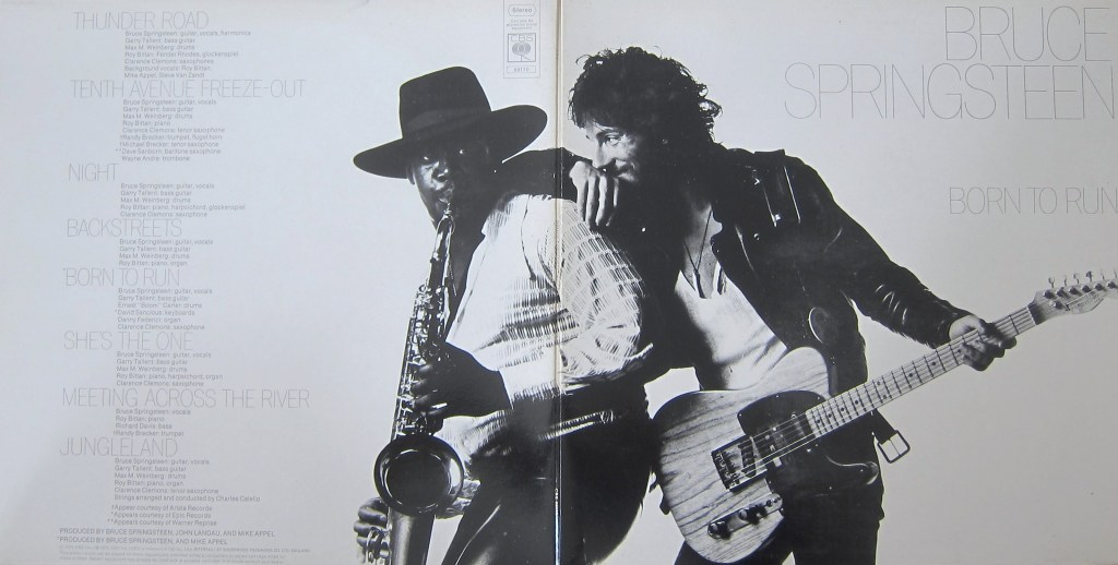 Bruce Springsteen Born To Run Gatefold Cover