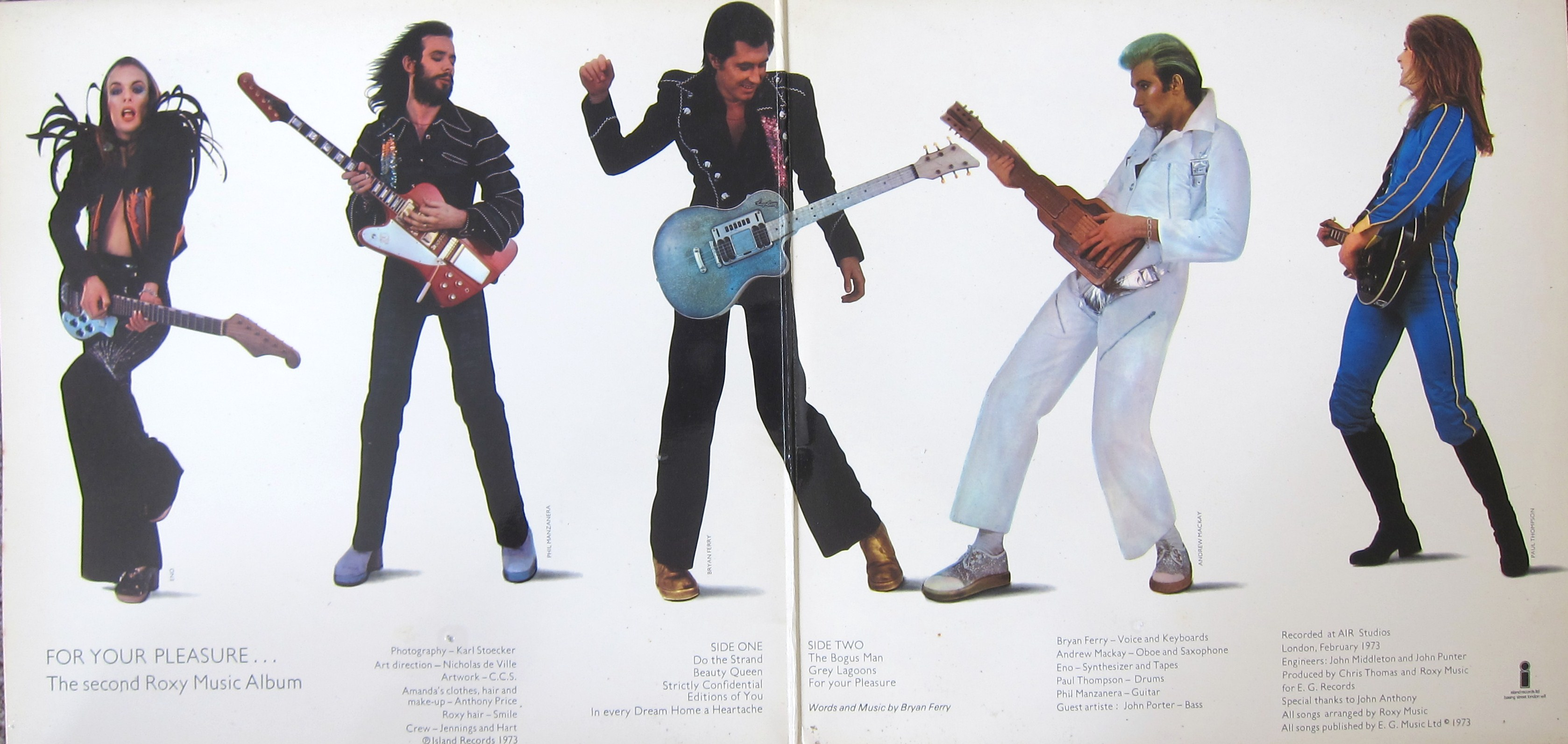 Roxy Music - Do The Strand / Editions Of You