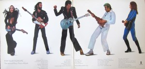 For Your Pleasure Roxy Music inner gatefold