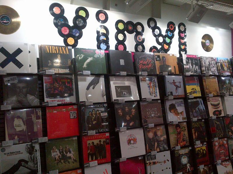 Hmv Vinyl Section Oxford St Every Record Tells A Story