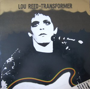 Lou Reed Transformer cover Mick Rock