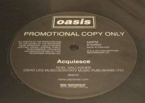 Oasis HMV Acquiesce promo