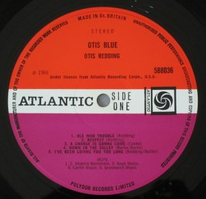 Otis Redding Atlantic plum label 588036