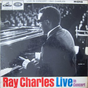 Ray Charles Live in Concert EMI mono