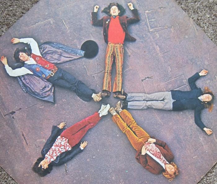 Rolling Stones Through The Past Darkly inside gatefold