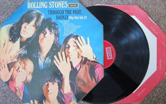Rolling Stones Through The Past Darkly  sleeve