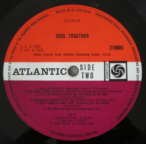 Soul Together Atlantic plum label UK