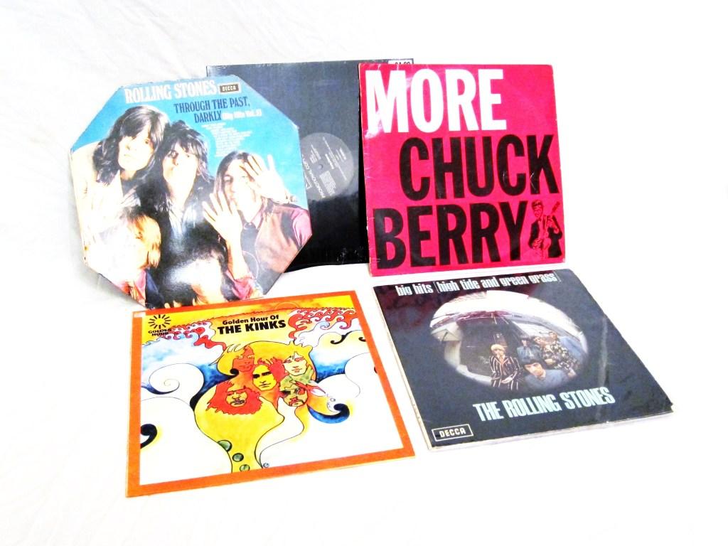 Album Collection Stones, Berry, Kinks