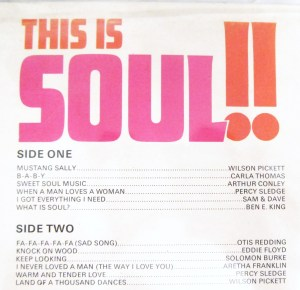 This Is Soul!! track listing