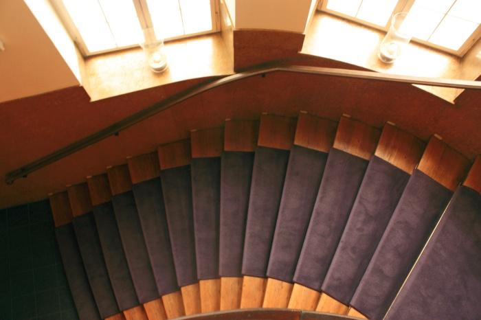 Hansa studio stairs