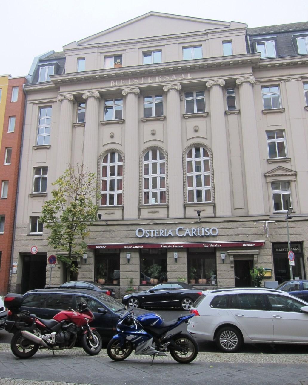 Hansa Studios exterior