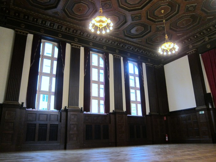 The Hall by the Wall Hansa Studios Studio 2 Berlin