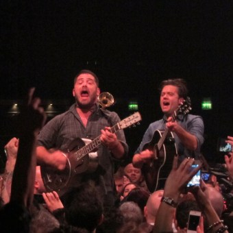 The Augustines rounded off the year brilliantly at the Camden Roundhouse, playing in the centre of the crowd at one point