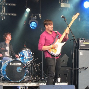 Parquet Courts played the Park Stage at Glastonbury