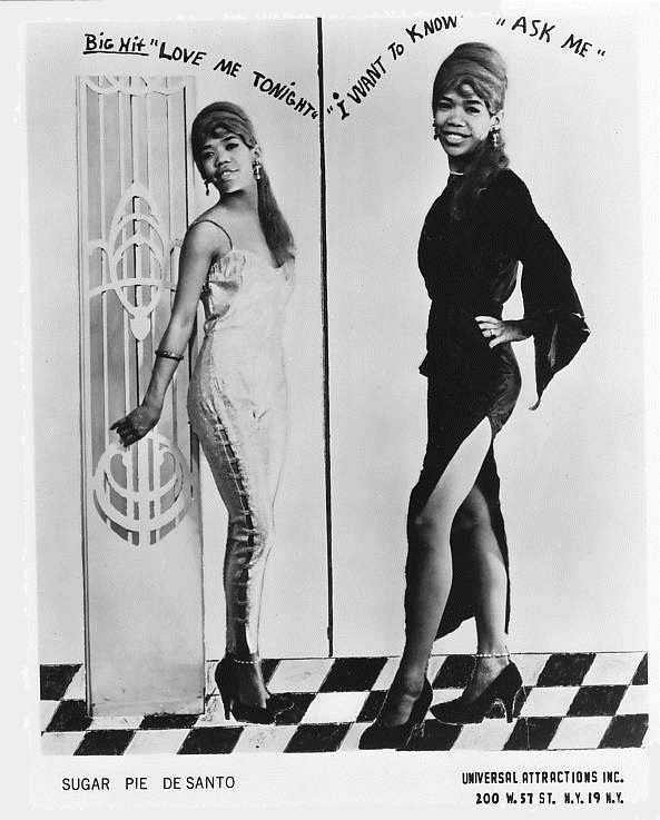 Sugar Pie DeSanto publicity photo Chess Records
