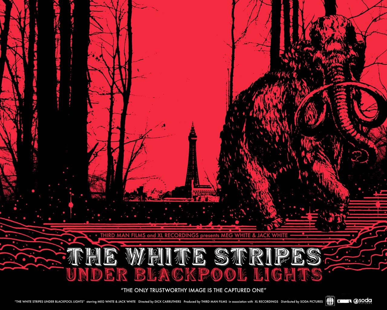 White Stripes Blackpool Lights Every Record Tells A Story