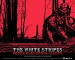 White Stripes Blackpool lights