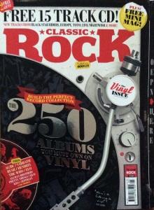 Classic Rock Magazine Vinyl issue