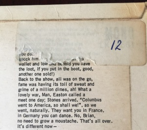 Rolling Stones No 2 reverse