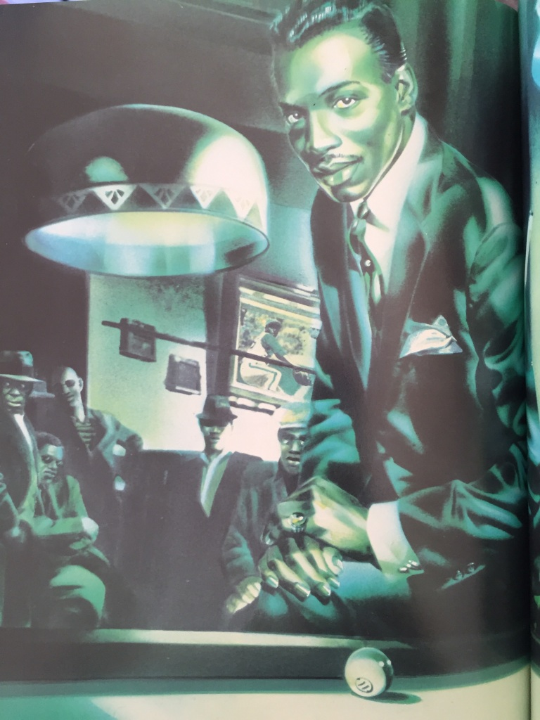 Wilson PIckett, as depicted in Rock Dreams by Guy Peellaert