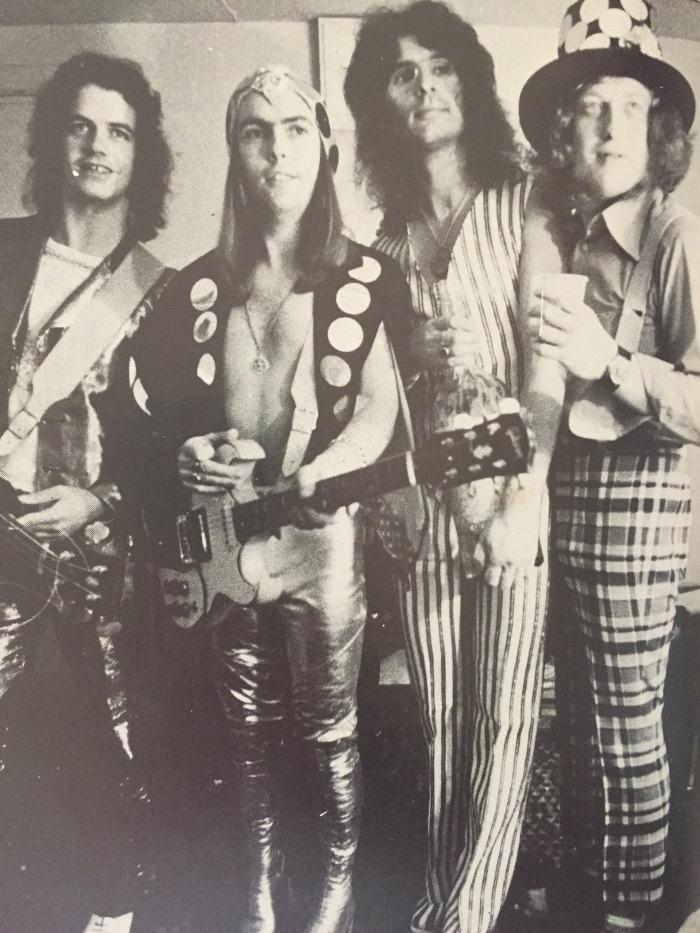 The always well-dressed Slade.