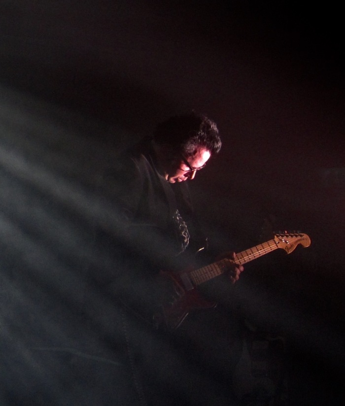 Grasshopper Jonathan Donahue of Mercury Rev at The Oval Space 2015